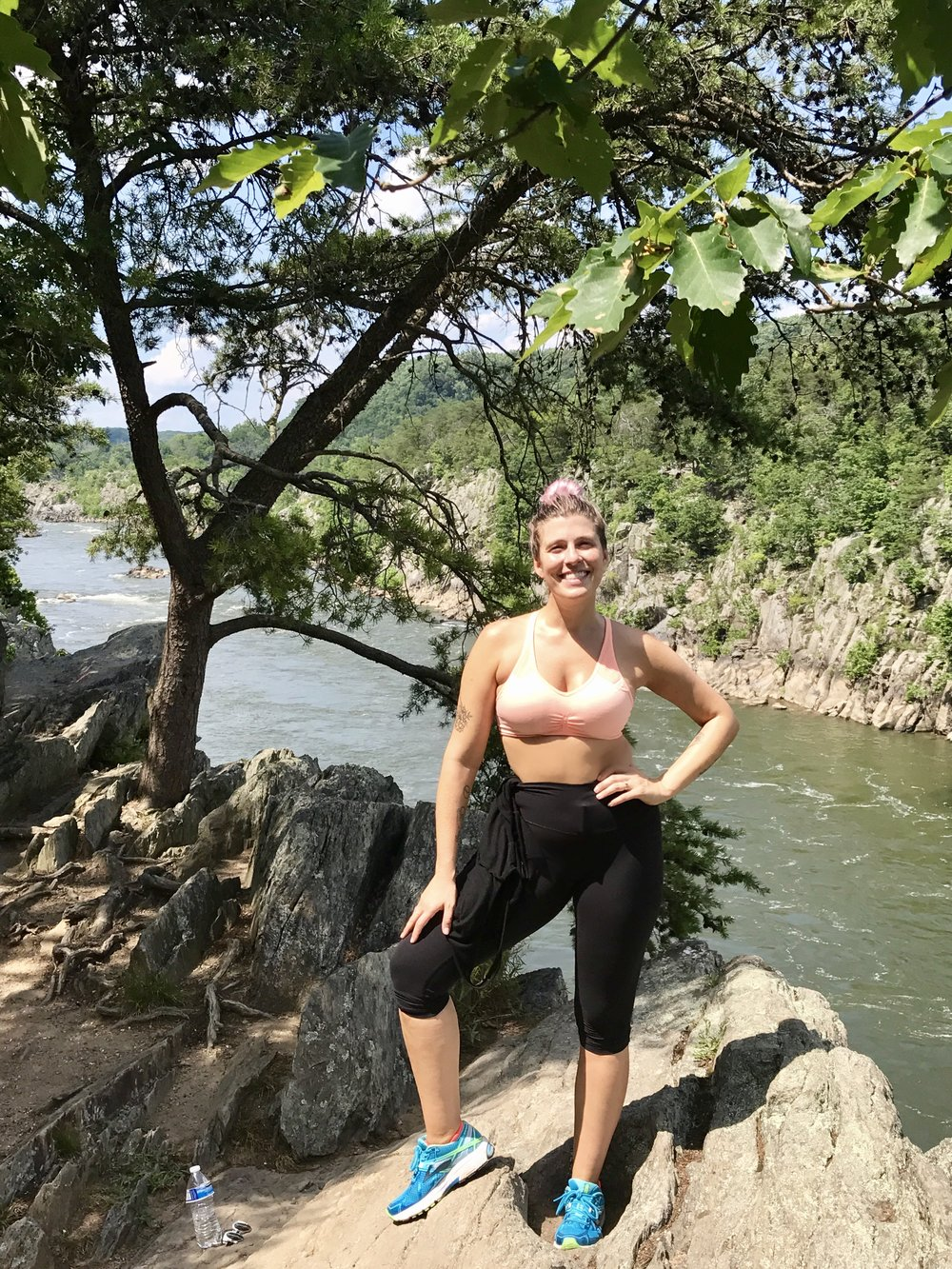 Hiking Great Falls Park in Northern Virginia