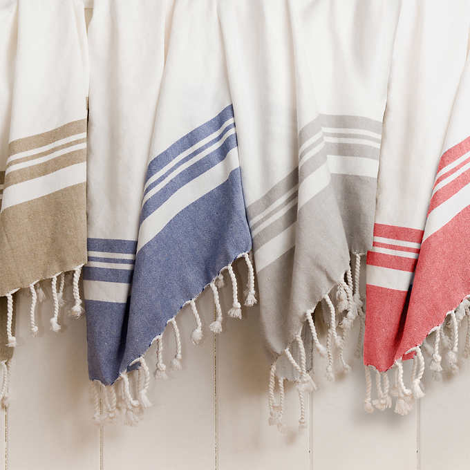 the turkish towel - A multipurpose home & fashion piece.