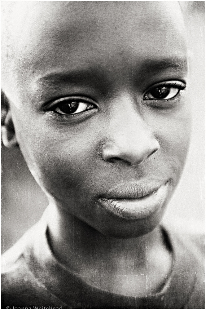 Young boy from the slum of Kampala, Uganda