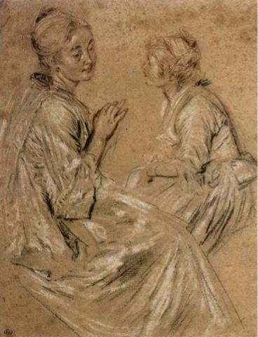by: Antoine Watteau