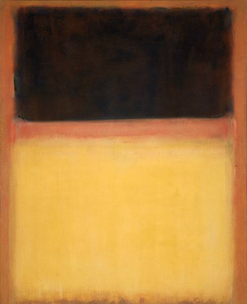 """Dark Over Light Earth"" by Mark Rothko (1954)"
