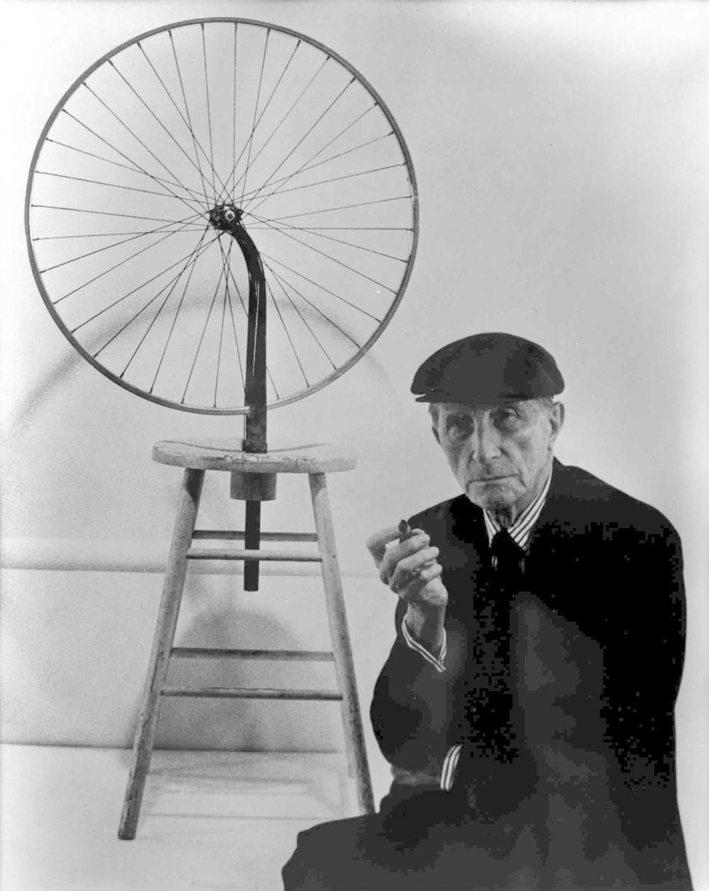 """The Bicycle"" by Marcel Duchamp"