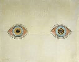 """""""My Eyes in the Time of Apparition"""" by August Natterer (1913)"""