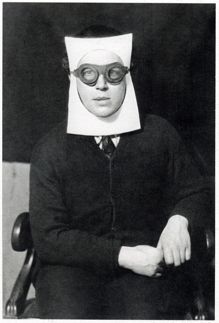 "Photo by Man Ray, ""Andre Breton"" (1930)"