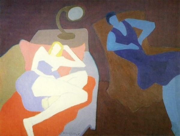 """""""Two Women"""" by Milton Avery"""