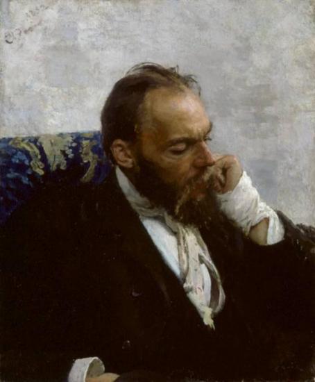 """Portrait of Professor Ivanov"" by Ilya Repin (1882)"