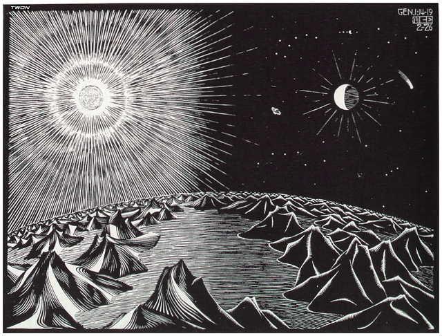 by M.C. Escher