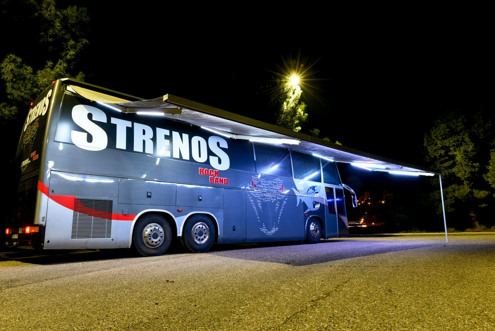 Autobus Strenos rock band