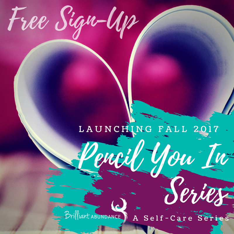 Self-Care Series - This fall join us as we take some time to have some