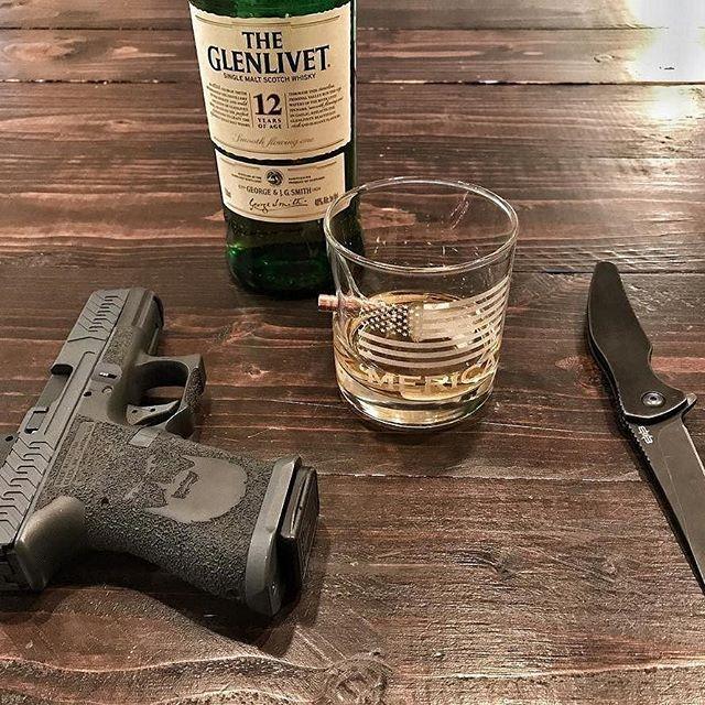 Ready for the 4th of July. 'Merica @mad_custom_coating ・・・ #merica #benshot #whiskey #cheers #bulletproof