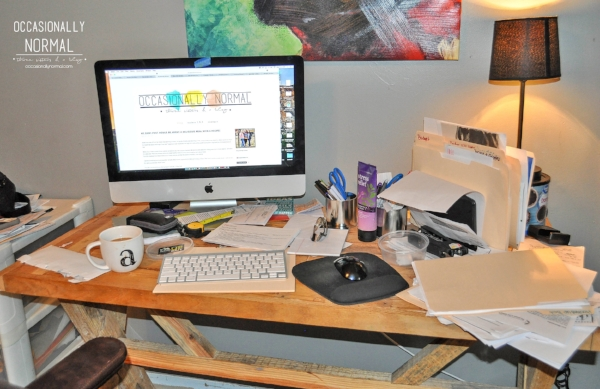 A clean workspace= actual work for me. This has to be fixed!