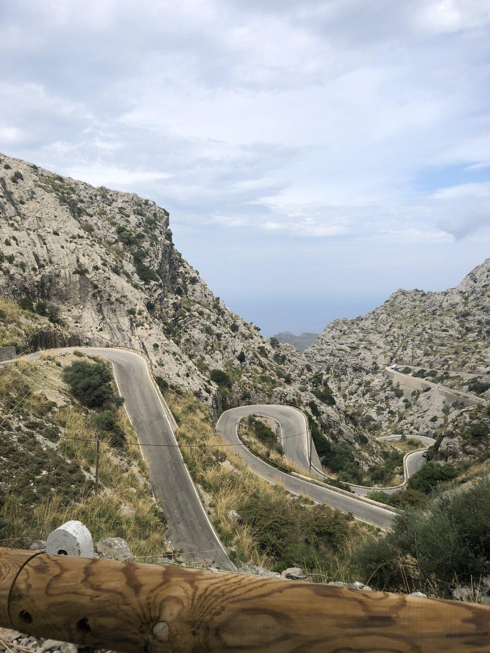 Drive to Sa Calobra