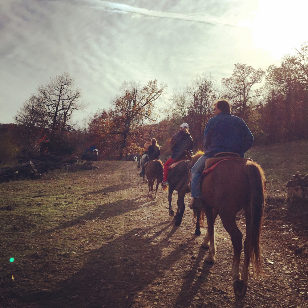 Horseback Riding at Rimrock Cove Ranch