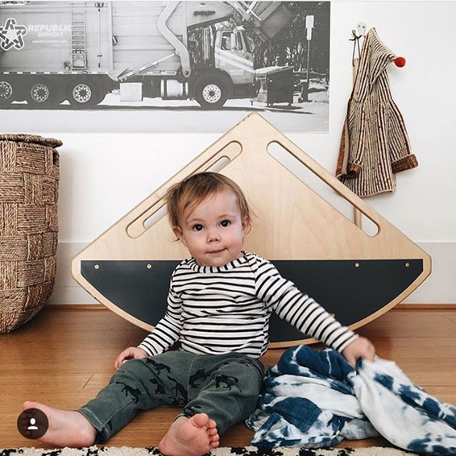 Need some goodness in your life? Kids and teeter totters will do it for you. Thanks for the love @sycamorekate 💕