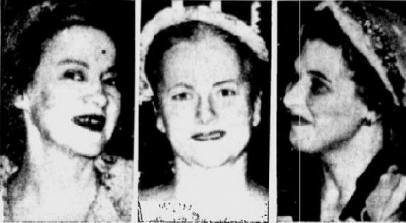 The three women who were slain