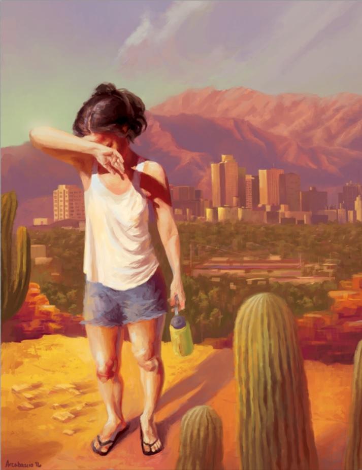 Interior for  Phoenix Magazine . Art directed by Mirelle Inglefield