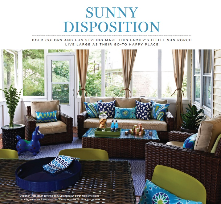 Interior Design Home Article by Writer, Deb Mitchell