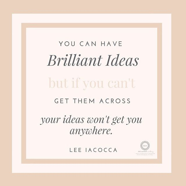 Make sure your brilliant ideas do get you somewhere! #interiordesign #writer