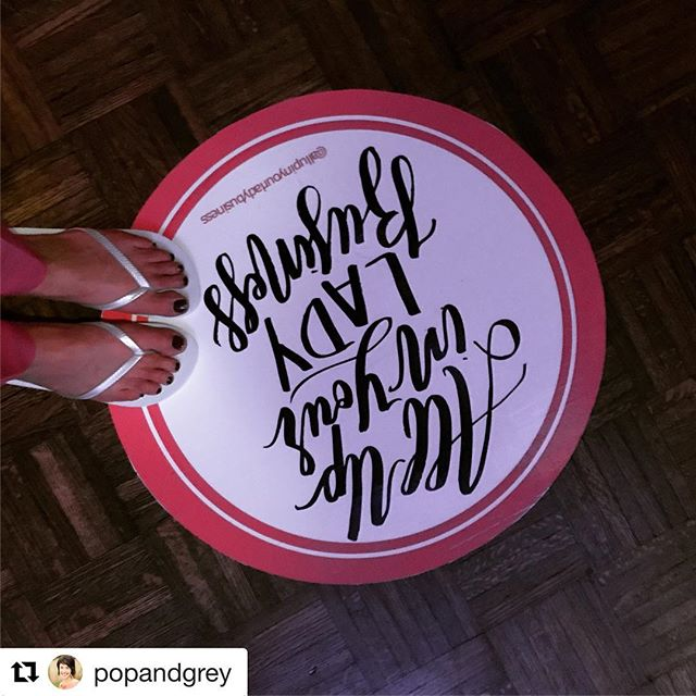 Looks like I missed all the fun at #bossmomretreat! #Repost @popandgrey (@get_repost) ・・・ Forever grateful to the lovely Jaclyn and Jessica of @allupinyourladybusiness for sponsoring karaoke night at the #bossmomretreat! Love you ladies! 🎤 🎶💕💃
