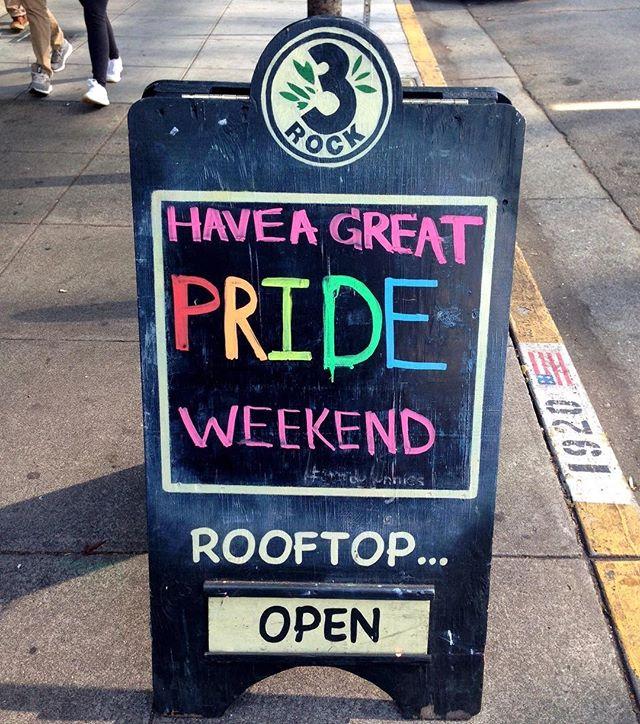 We are incredibly proud to call the Bay Area our home 🌈🍺🌟Have a great weekend! . . . . . #proud #pride #SFpride #bayareapride #berkeleypride #bayarea #berkeley #berkeleybrewed #berkeleybeer #craftbeer #triplerockbrewing #3Rock #triplerockbeer #rainbow #beerrainbow #loveislove #beerisbeer