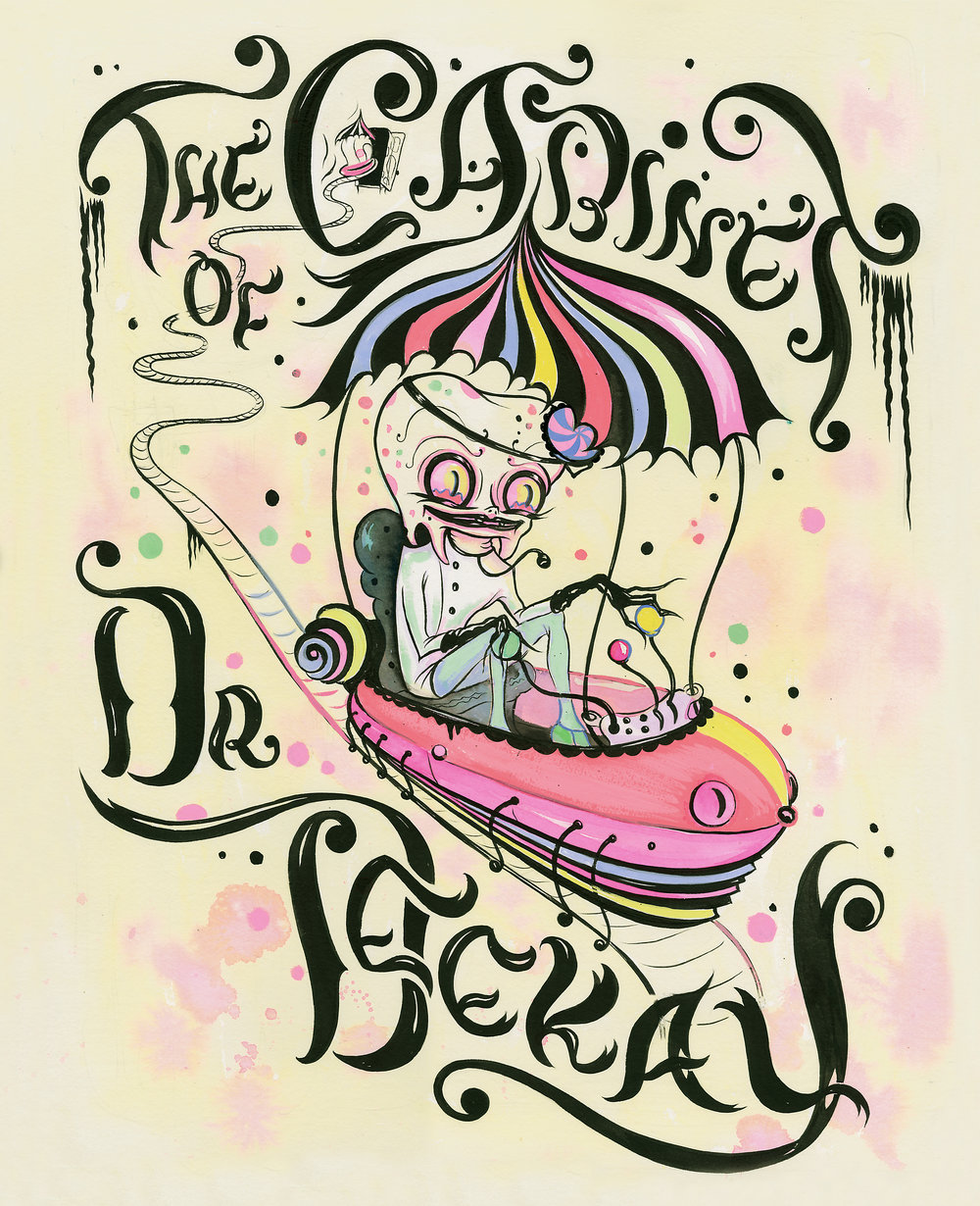 Camille Rose Garcia |  The Cabinet of Dr. Deekay  (cover image)