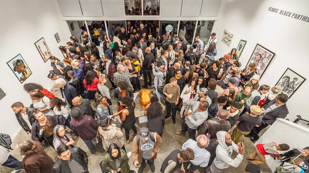 Iconic: Black Panthers Opening Reception at Gregorio Escalante Gallery | Image courtesy Birdman Photos
