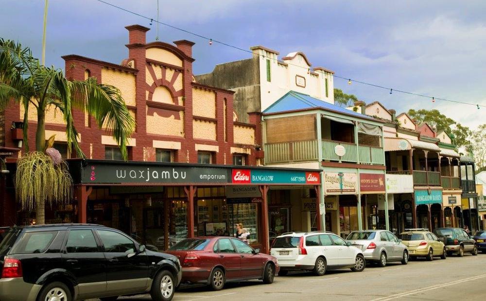 Bangalow main street