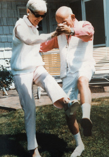 Anne & Gordon Samstag, Mamaroneck, NY, USA, 1986. Samstag Legacy Archive, UniSA. Photograph gift of Mrs Robbie McBryde.