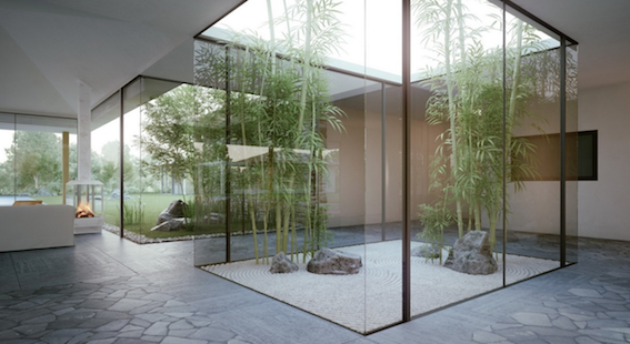 Elegant minimilist Bamboo. Reach for the sky with this one.