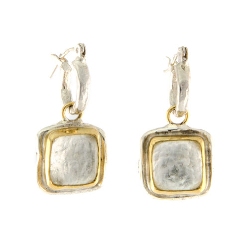 drop gold brown smoky on hot silver womens summer earrings rose quartz shop kohls women square over halo sales s
