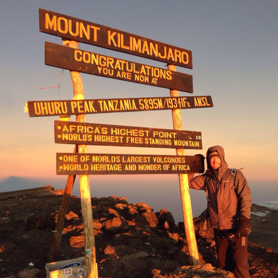 Peak of Mt. Kilimanjaro - What an Accomplishment!
