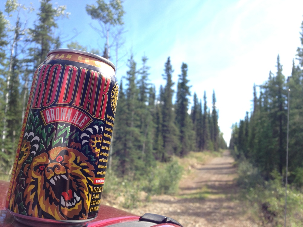 this photo was taken in tok, ak and not at the brewery. but we felt it showcased the true nature of the beer!