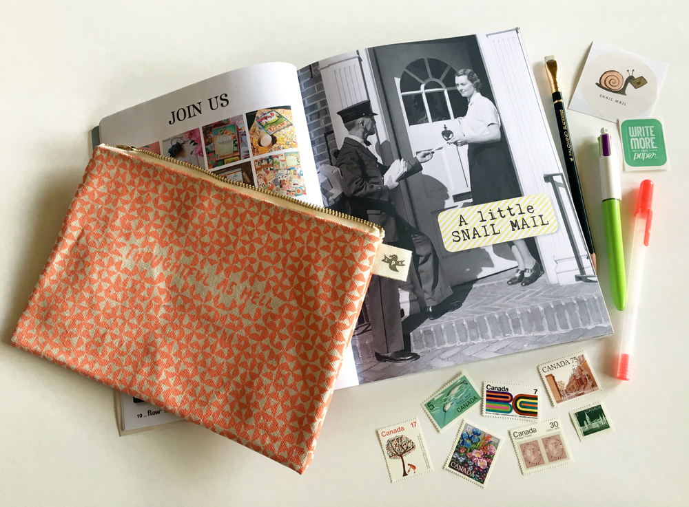 Pouch by eggpress, Book for Paper Lovers from Flow Magazine