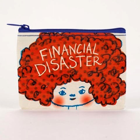 Financial Disaster coin purse (with very important stuff in it). Last used at the Lobby Lounge @fairmontpacific  If you find it please get in touch. 🤞🏼 #financialdisaster