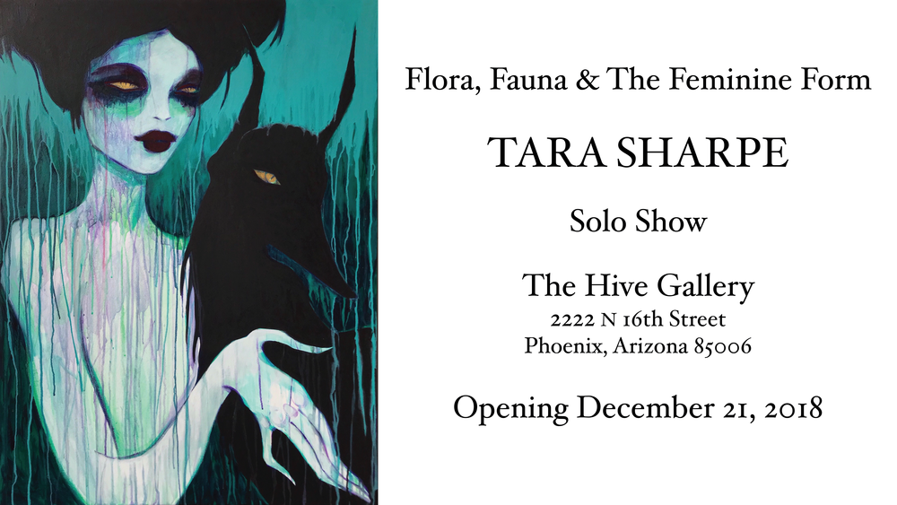 """The Enchantment of Twilight (Origin)"" Tara Sharpe acrylic on canvas 30"" x 40"""