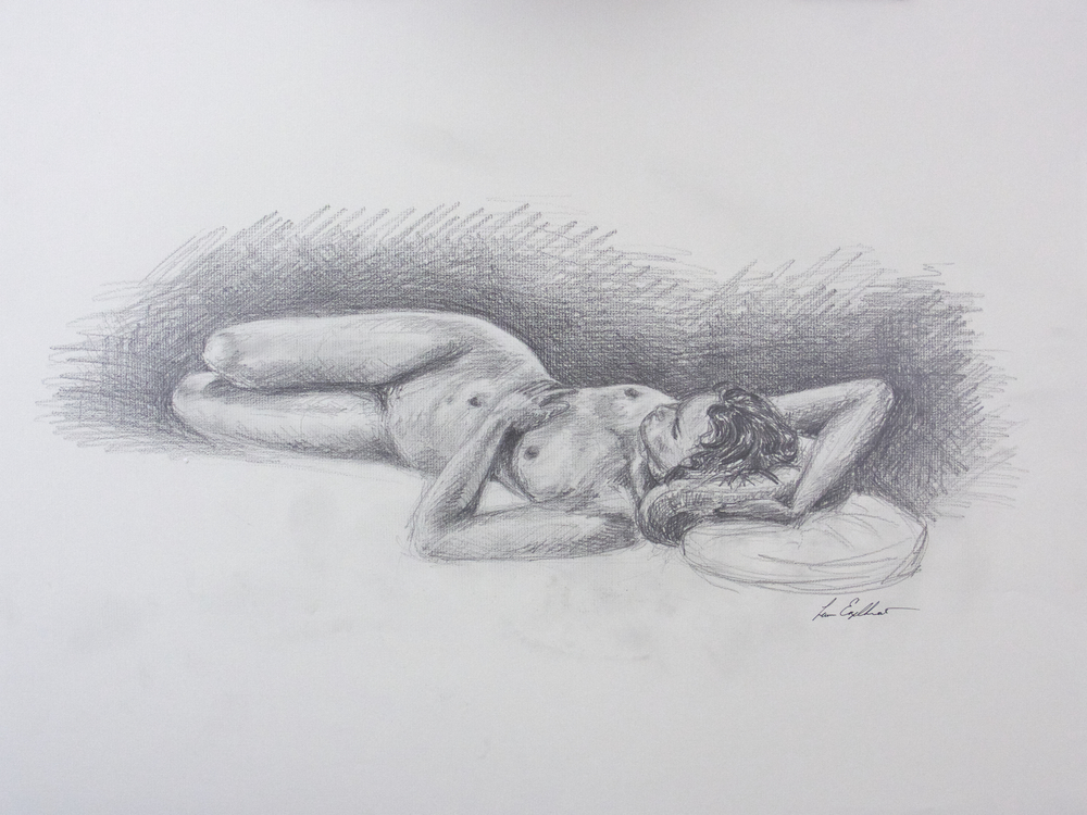 Figure in Recline