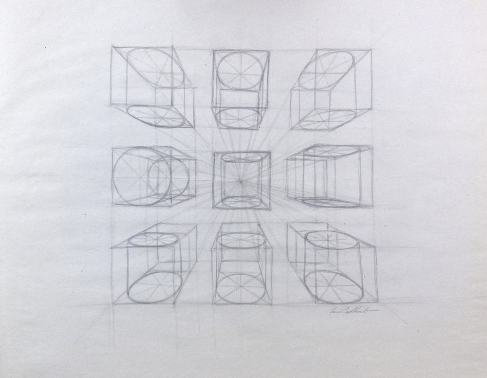 Single Point Perspective Study