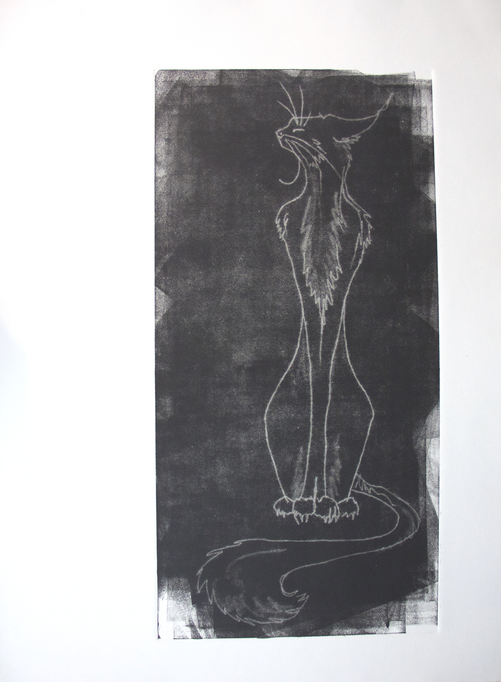Midnight Spirit Shadow_24x30_Shadow monoprint.jpeg