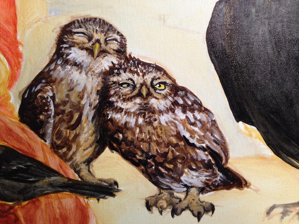 Owl Detail #2