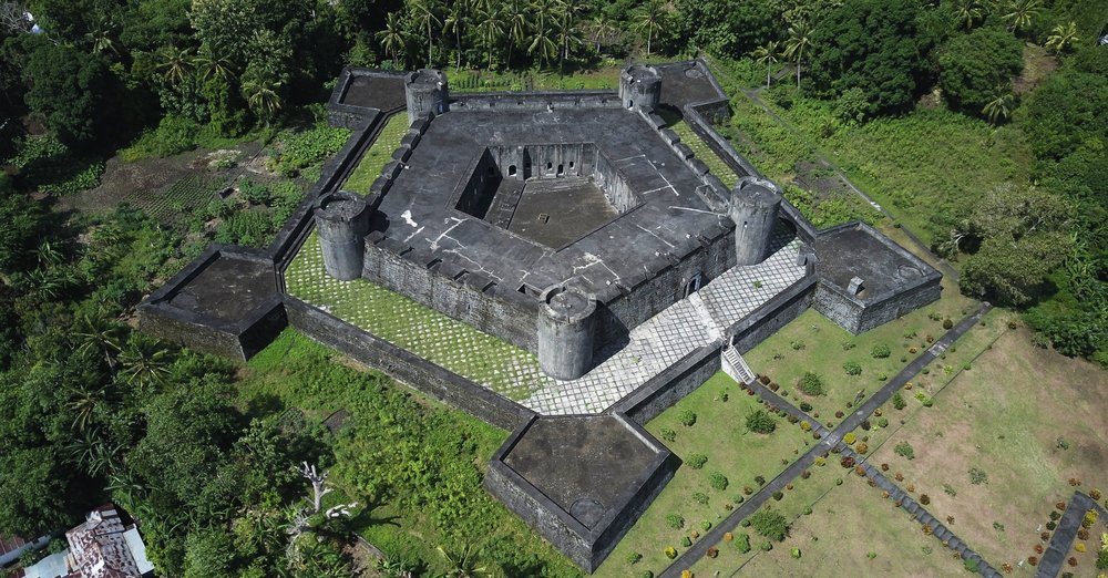 FIVE POINTED FORT BELGICA