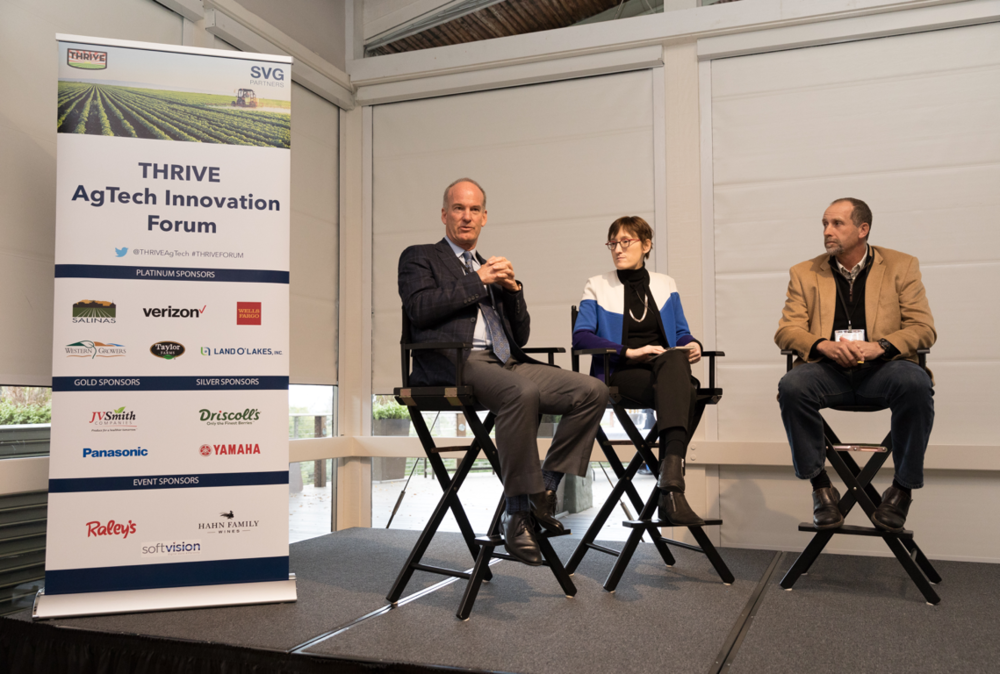 CEO Bruce Taylor, Taylor Farms and CEO Kevin Murphy, Driscoll's Berries, moderated by Elizabeth Weise, USA Today