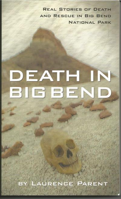"Cover of the book ""Death in Big Bend"""