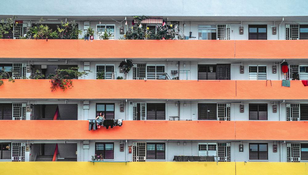 TOWER BLOCK, SINGAPORE | KODAK 200