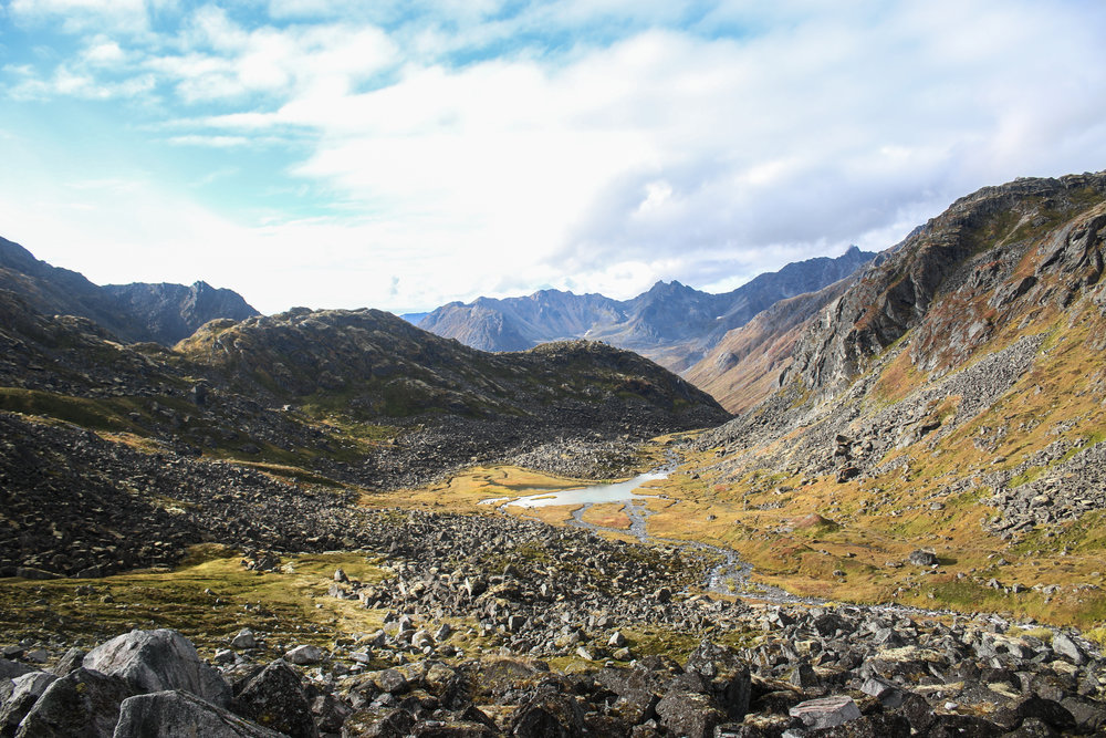 Hatcher Pass in late September.