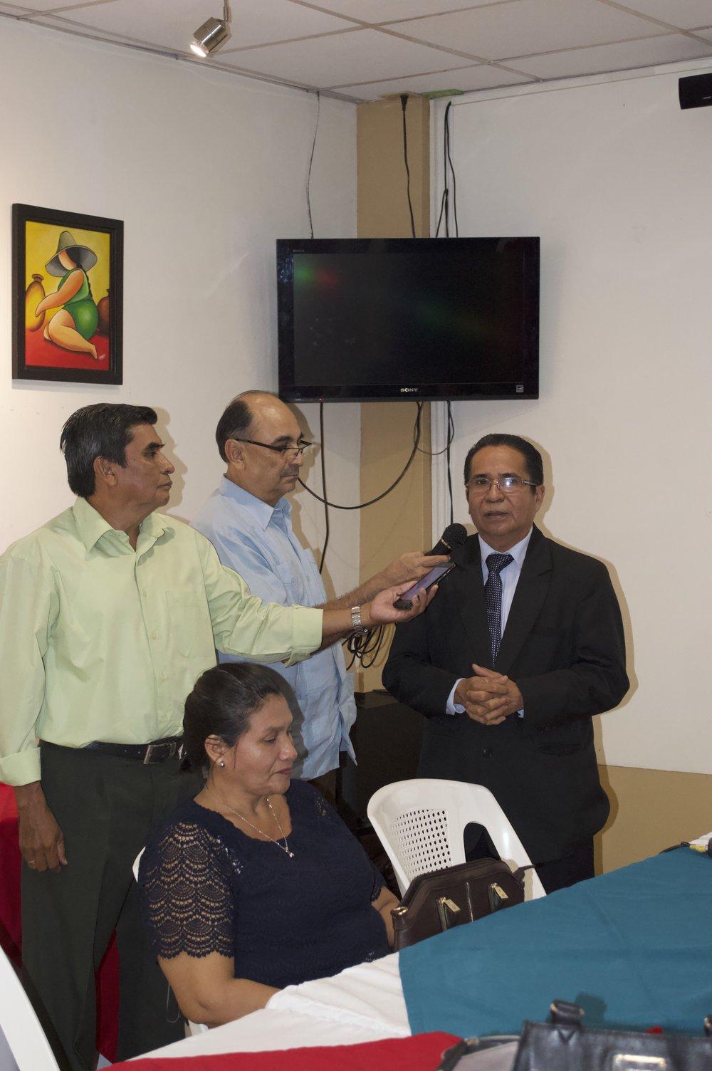 Palabras de Bienvenida   Dr. Juan R Vanegas R - Presidente FOCO
