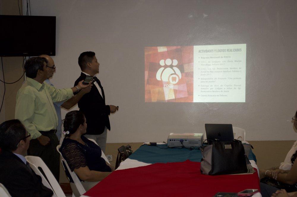 Presentación de resultados   Dr. Juan R Vanegas S - Vicepresidente FOCO