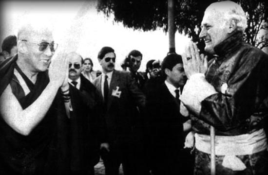 El Dalai Lama y el nazi chileno Miguel Serrano