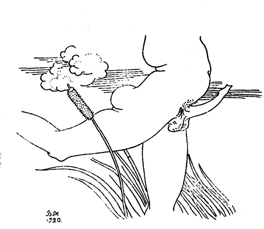 Ilustración de Vladimir Milashevski para Cuadros envueltos