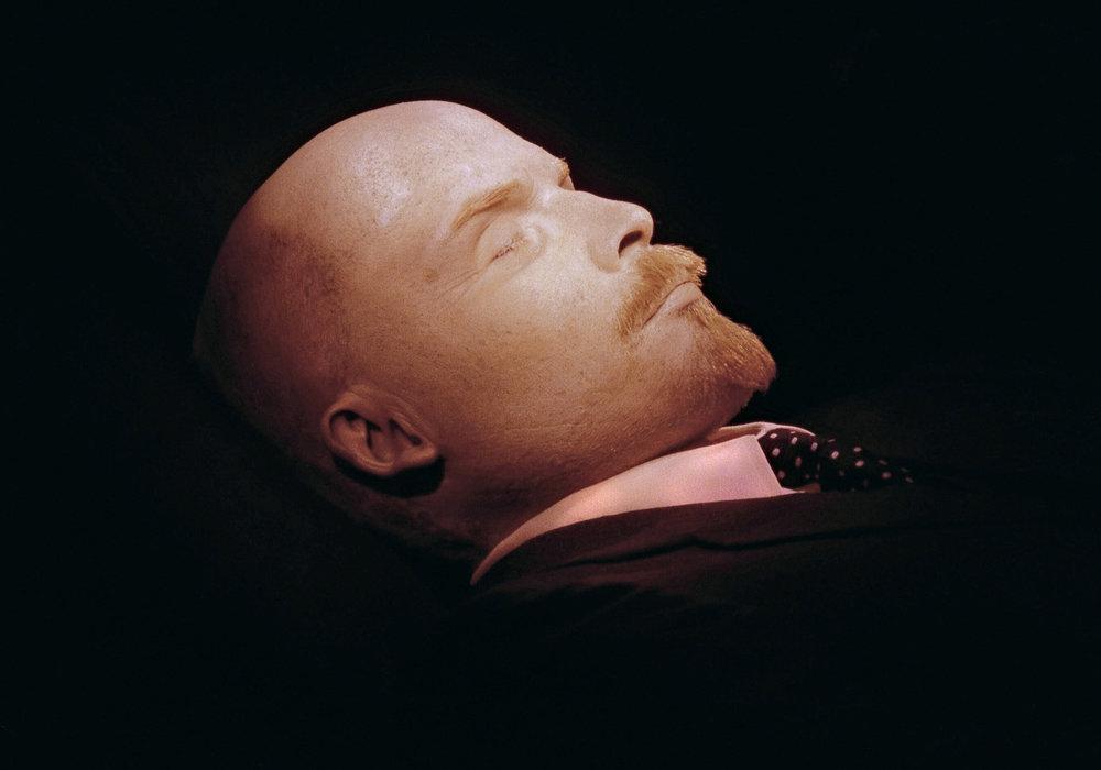 El cadáver de Lenin