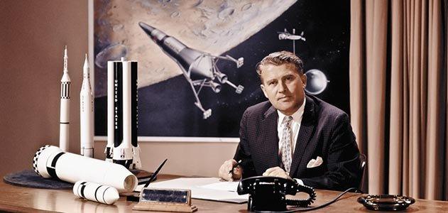 El renovado Von Braun como respetable científico